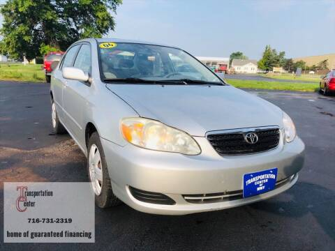 2006 Toyota Corolla for sale at Transportation Center Of Western New York in Niagara Falls NY