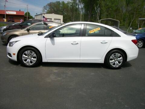 2014 Chevrolet Cruze for sale at Lentz's Auto Sales in Albemarle NC