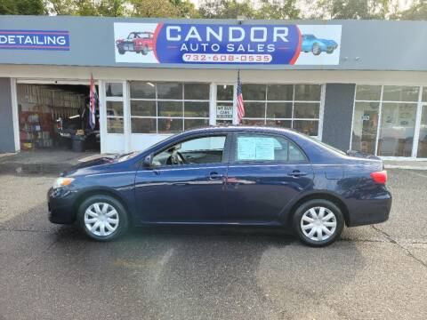 2011 Toyota Corolla for sale at CANDOR INC in Toms River NJ