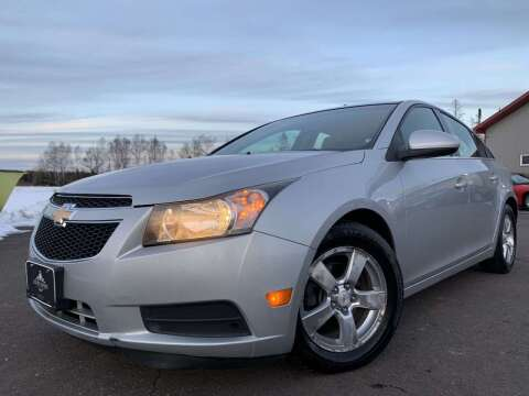 2012 Chevrolet Cruze for sale at LUXURY IMPORTS in Hermantown MN