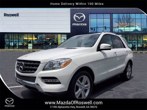 2015 Mercedes-Benz M-Class for sale at Mazda Of Roswell in Roswell GA