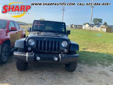 2015 Jeep Wrangler Unlimited for sale at Sharp Automotive in Watertown SD