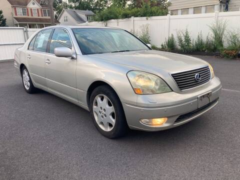 2001 Lexus LS 430 for sale at Michaels Used Cars Inc. in East Lansdowne PA