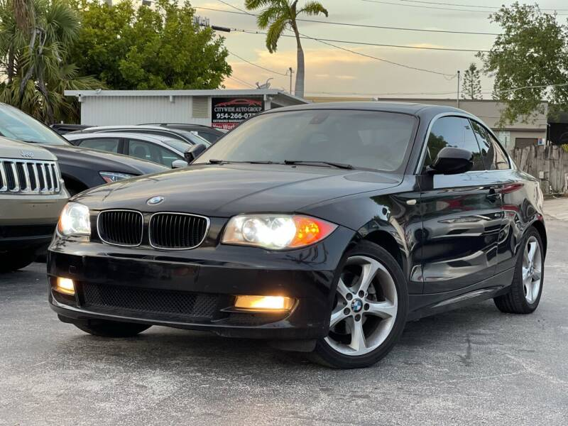 2011 BMW 1 Series for sale at Citywide Auto Group LLC in Pompano Beach FL