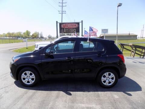 2017 Chevrolet Trax for sale at MYLENBUSCH AUTO SOURCE in O` Fallon MO