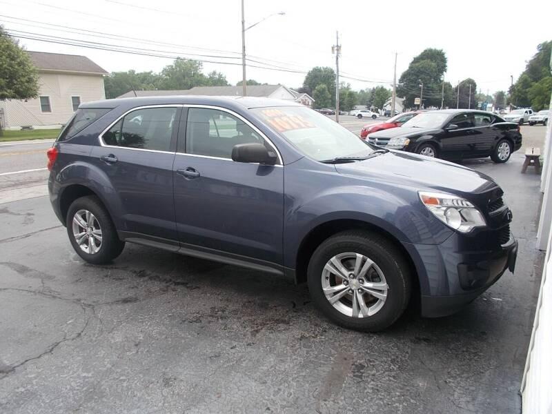 2014 Chevrolet Equinox for sale at Dansville Radiator in Dansville NY