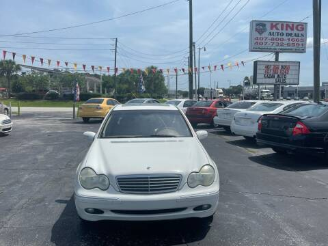 2004 Mercedes-Benz C-Class for sale at King Auto Deals in Longwood FL