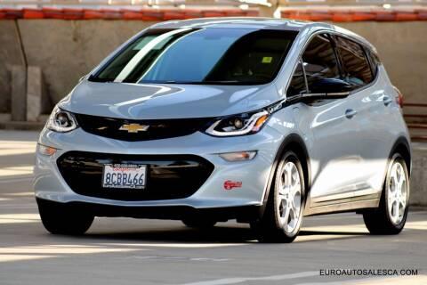 2017 Chevrolet Bolt EV for sale at Euro Auto Sales in Santa Clara CA