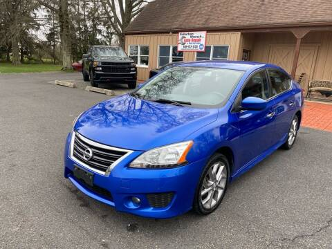 2013 Nissan Sentra for sale at Suburban Wrench in Pennington NJ