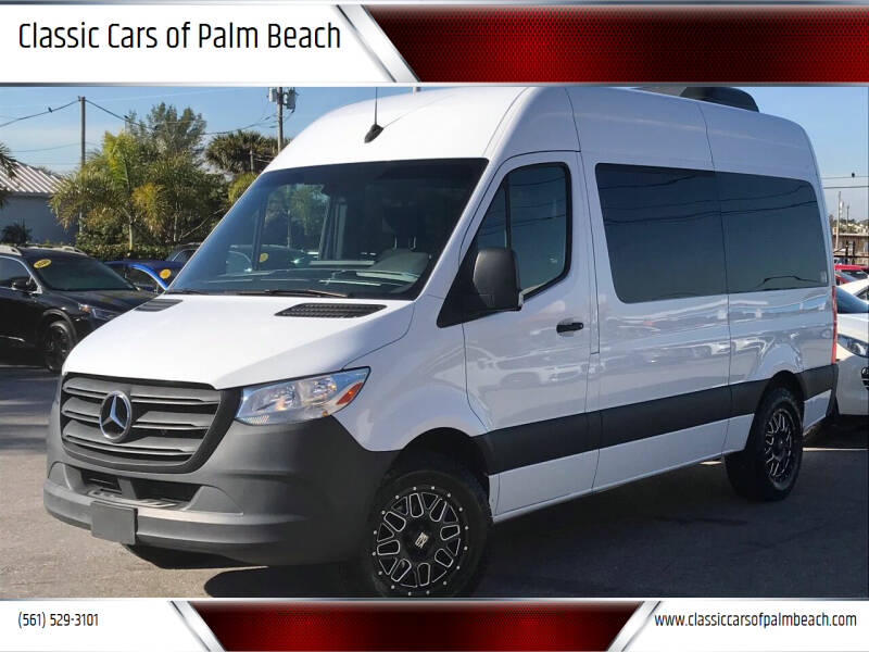 2019 Mercedes-Benz Sprinter Passenger for sale at Classic Cars of Palm Beach in Jupiter FL