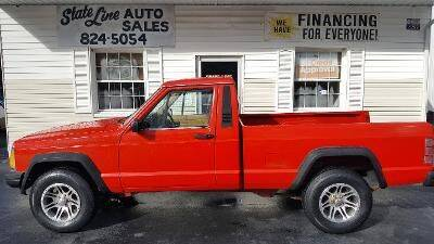 1987 Jeep Comanche for sale at STATE LINE AUTO SALES in New Church VA