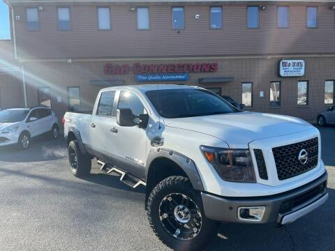 2017 Nissan Titan XD for sale at CAR CONNECTIONS in Somerset MA