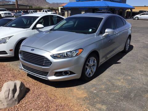 2014 Ford Fusion for sale at SPEND-LESS AUTO in Kingman AZ