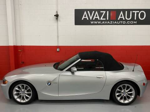 2003 BMW Z4 for sale at AVAZI AUTO GROUP LLC in Gaithersburg MD