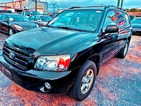 2007 Toyota Highlander for sale at Del Sol Auto Mart in Des Plaines IL