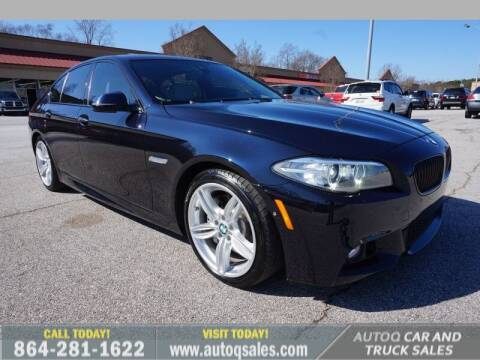 2016 BMW 5 Series for sale at Auto Q Car and Truck Sales in Mauldin SC