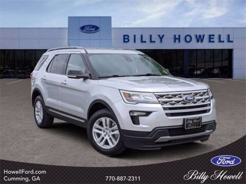 2018 Ford Explorer for sale at BILLY HOWELL FORD LINCOLN in Cumming GA