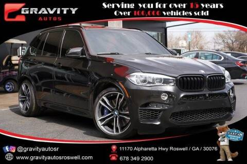 2017 BMW X5 M for sale at Gravity Autos Roswell in Roswell GA