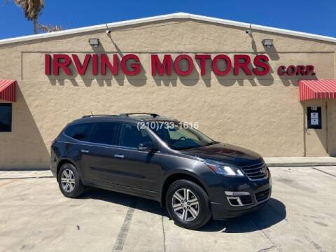 2017 Chevrolet Traverse for sale at Irving Motors Corp in San Antonio TX