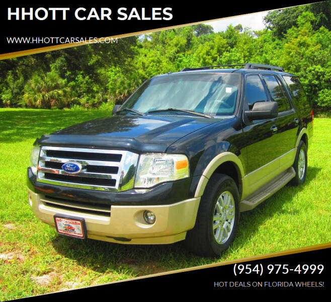 2010 Ford Expedition for sale at HHOTT CAR SALES in Deerfield Beach FL