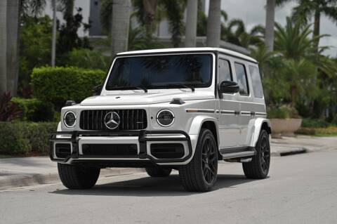 2020 Mercedes-Benz G-Class for sale at EURO STABLE in Miami FL