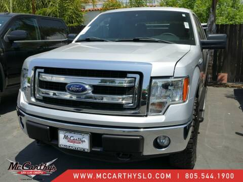 2013 Ford F-150 for sale at McCarthy Wholesale in San Luis Obispo CA
