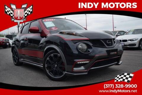 2014 Nissan JUKE for sale at Indy Motors Inc in Indianapolis IN