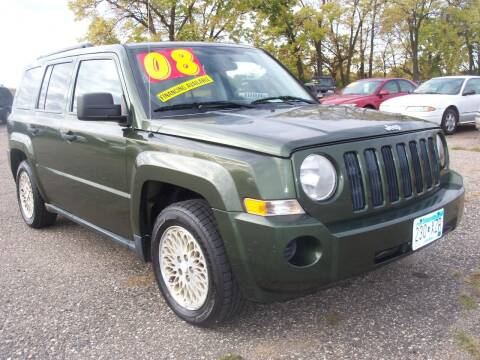 2008 Jeep Patriot for sale at Country Side Car Sales in Elk River MN