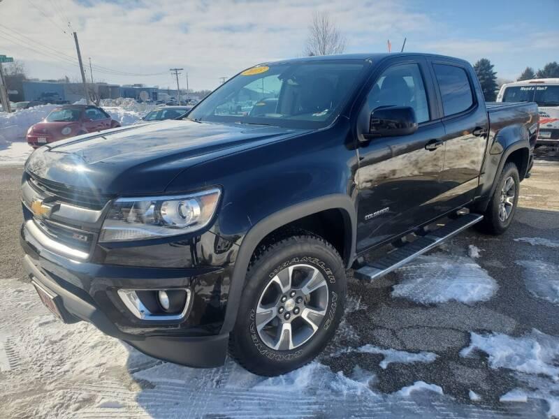 2015 Chevrolet Colorado for sale at AMAZING AUTO SALES in Marengo IL