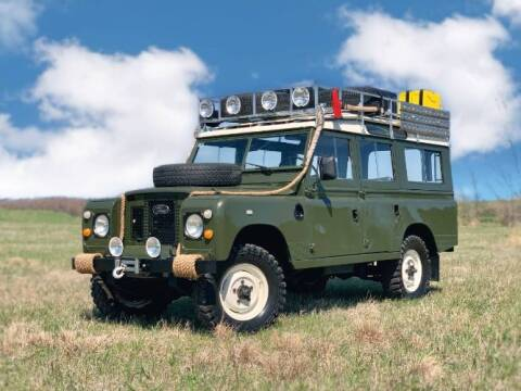 1971 Land Rover Defender for sale at Classic Car Deals in Cadillac MI
