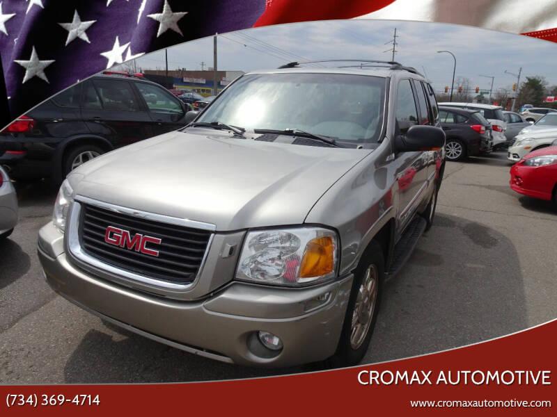 2002 GMC Envoy for sale at Cromax Automotive in Ann Arbor MI
