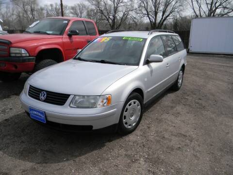 2000 Volkswagen Passat for sale at Cimino Auto Sales in Fountain CO