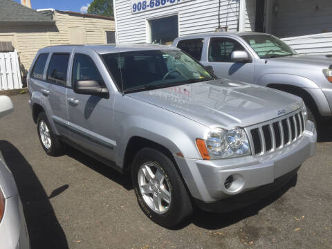 2007 Jeep Grand Cherokee for sale at UNION AUTO SALES in Vauxhall NJ