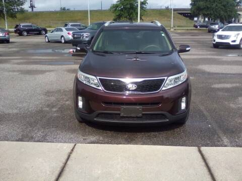 2014 Kia Sorento for sale at JOE BULLARD USED CARS in Mobile AL