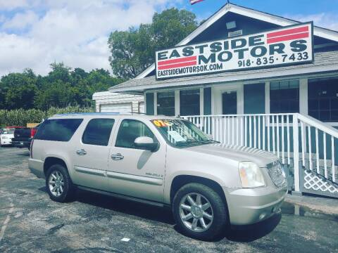 2007 GMC Yukon XL for sale at EASTSIDE MOTORS in Tulsa OK
