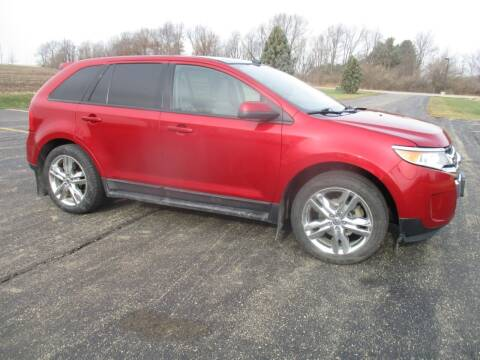 2012 Ford Edge for sale at Crossroads Used Cars Inc. in Tremont IL