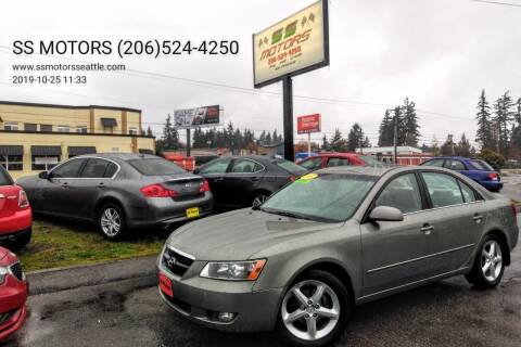 2007 Hyundai Sonata for sale at SS MOTORS LLC in Edmonds WA