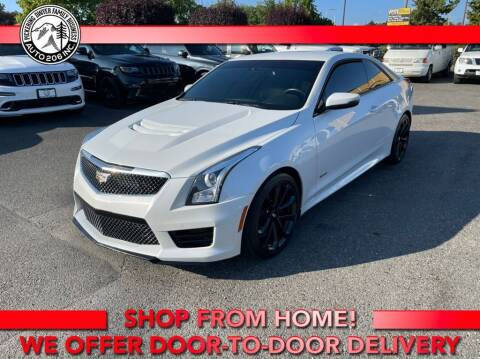 2018 Cadillac ATS-V for sale at Auto 206, Inc. in Kent WA