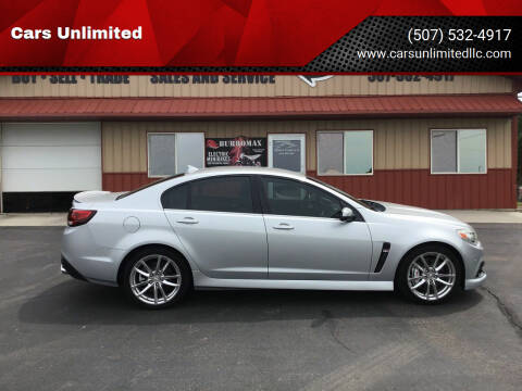 2014 Chevrolet SS for sale at Cars Unlimited in Marshall MN