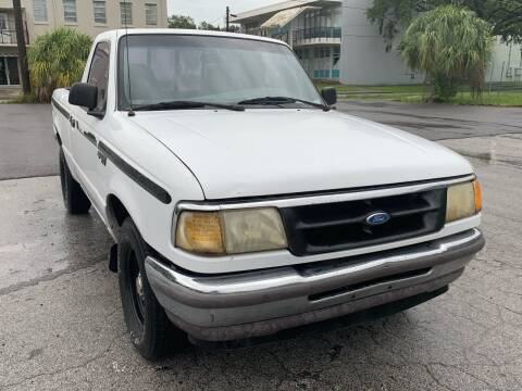 1996 Ford Ranger for sale at Consumer Auto Credit in Tampa FL