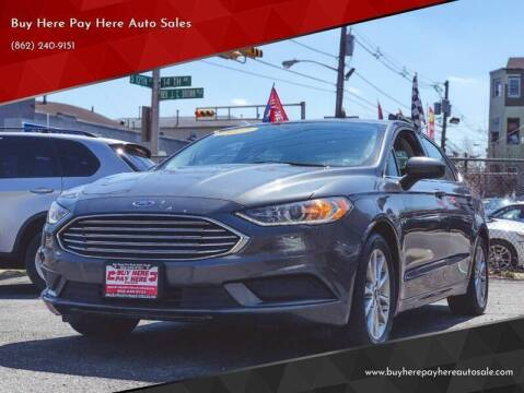 2016 Ford Fusion for sale at Buy Here Pay Here Auto Sales in Newark NJ
