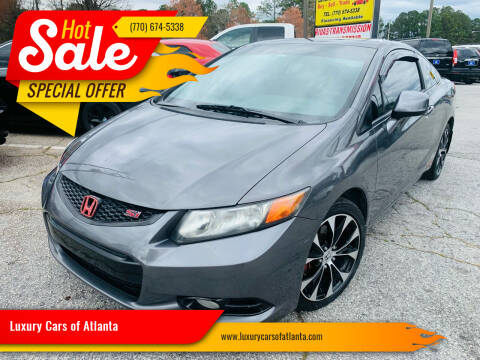 2012 Honda Civic for sale at Luxury Cars of Atlanta in Snellville GA