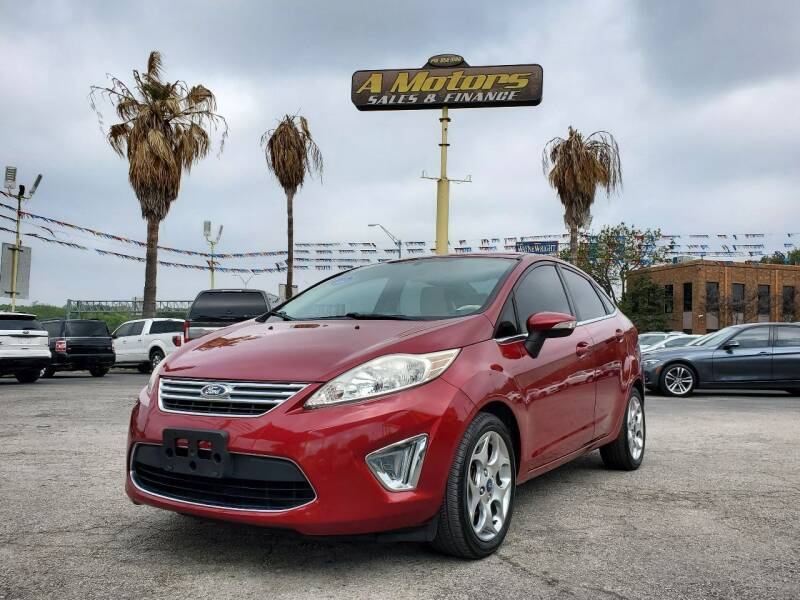 2013 Ford Fiesta for sale at A MOTORS SALES AND FINANCE in San Antonio TX