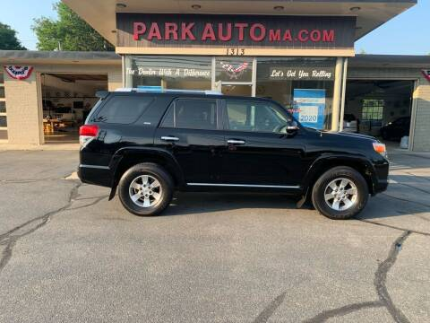 2012 Toyota 4Runner for sale at Park Auto LLC in Palmer MA