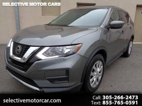 2018 Nissan Rogue for sale at Selective Motor Cars in Miami FL