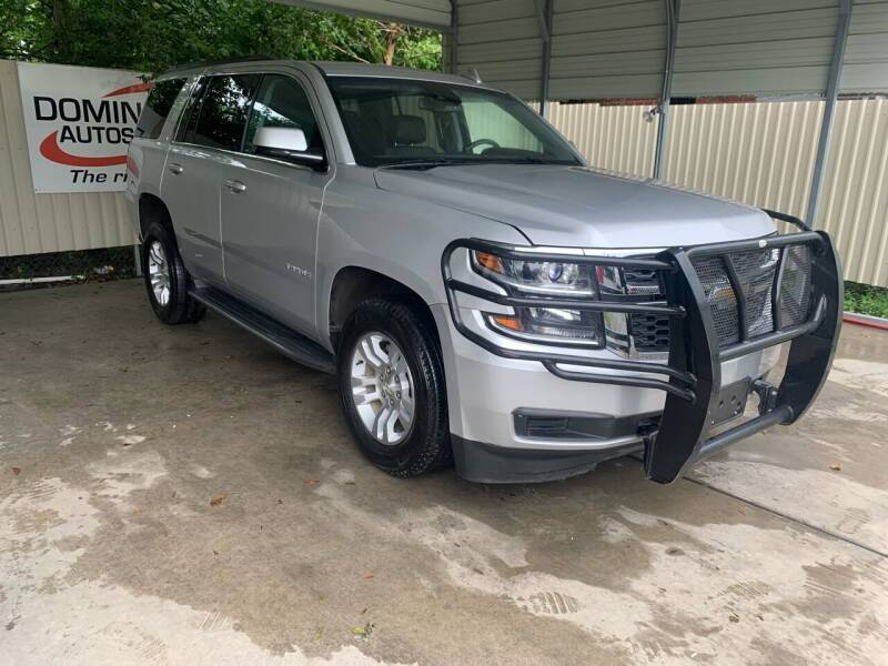 2017 Chevrolet Tahoe for sale at Dominique Auto Sales in Opelousas LA