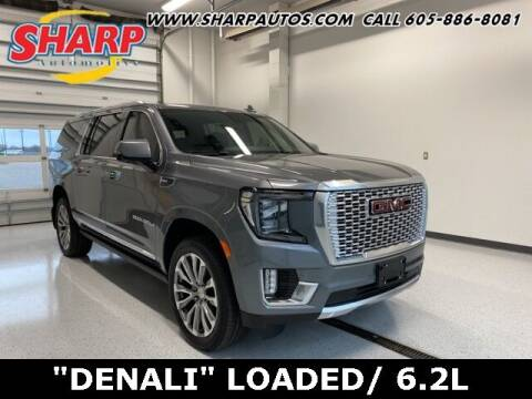 2021 GMC Yukon XL for sale at Sharp Automotive in Watertown SD