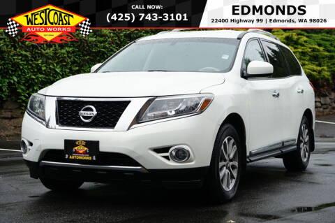2014 Nissan Pathfinder for sale at West Coast Auto Works in Edmonds WA