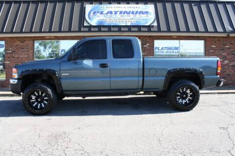 2007 GMC Sierra 2500HD Classic for sale at Platinum Auto World in Fredericksburg VA