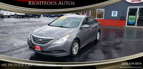 2014 Hyundai Sonata for sale at Righteous Autos in Racine WI